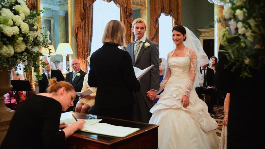 civil wedding Spencer House