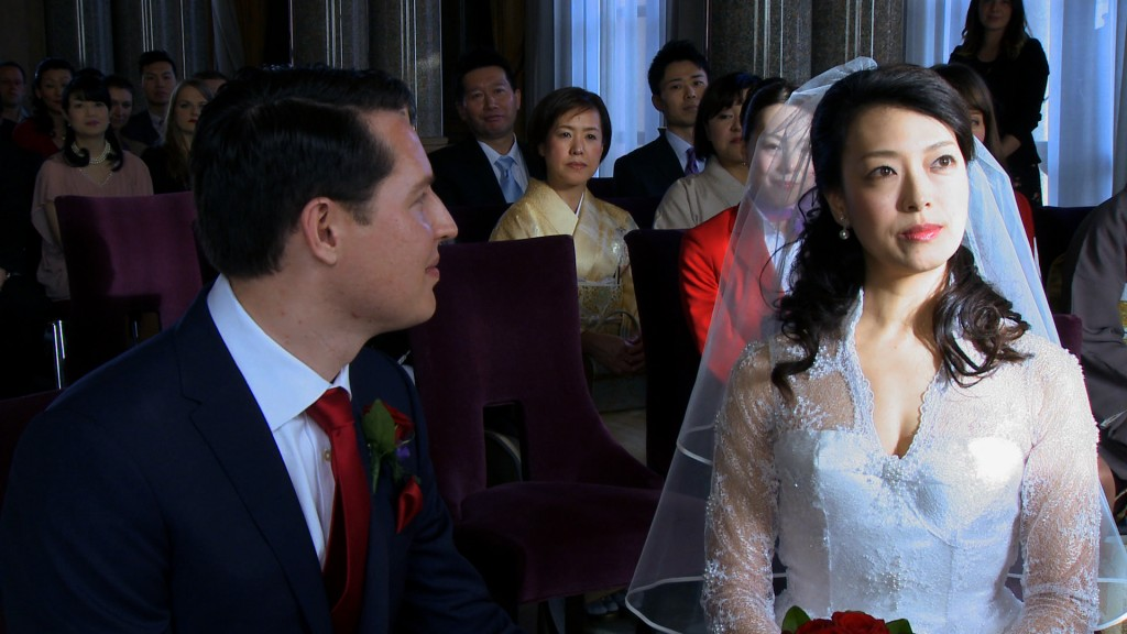 Anglo Japanese wedding video London