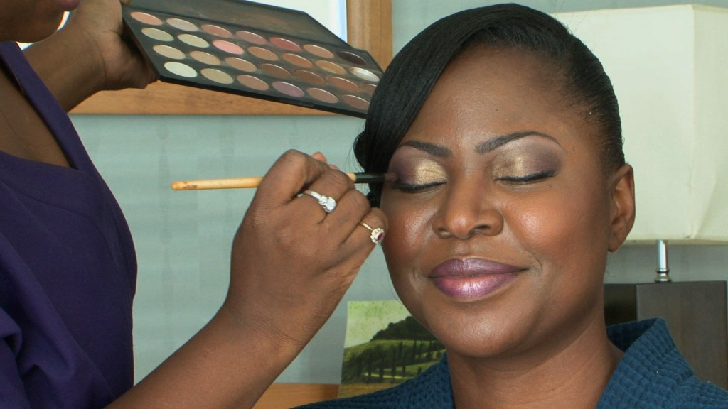 Nigerian make up wedding