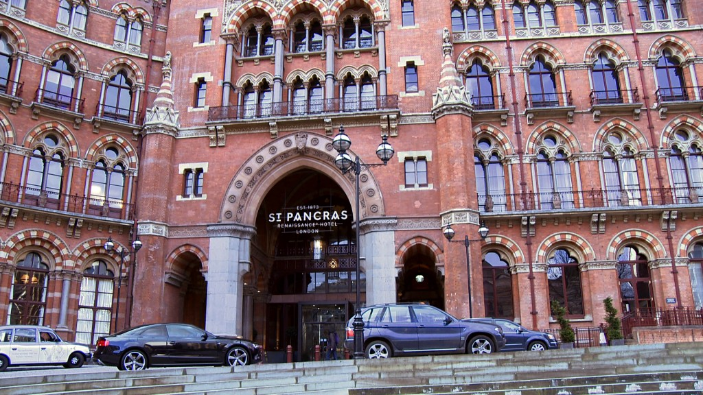 Wedding St Pancras Renaissance Hotel London
