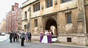 Lincoln's Inn Chapel wedding